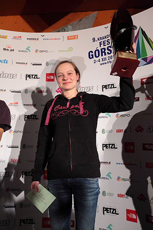 Najlepsza w Pucharze Polski 2011 - Kinga Ociepka-Grzegulska (fot. Adam Kokot/KFG)