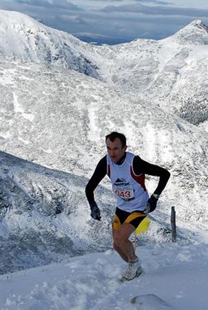 Bieg na Kasprowy w zimowej oprawie