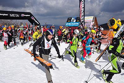 VI Zawody Skitourowe o Puchar Polar Sportu, start