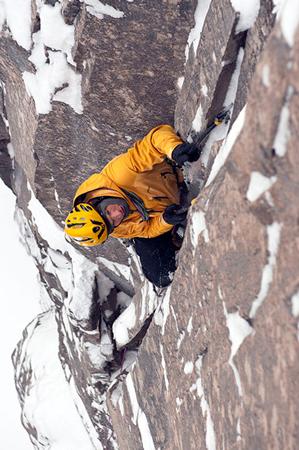 Steve podczas jednej ze swoich zimowych wspinaczek (fot. arch. Steve House)