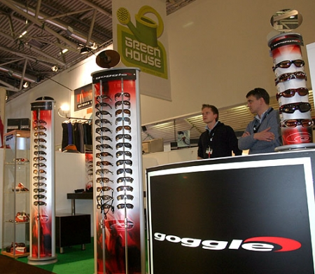 ispo winter 2008 – okulary Goggle w Green House