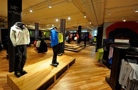 Największy na świecie sklep marki Arc'teryx