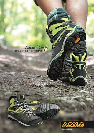 Linia butów Natural Shape marki Asolo nagrodzona przez Backpacker Magazine