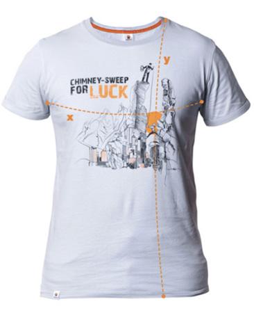 Climbe, koszulka Chimney Sweep for luck