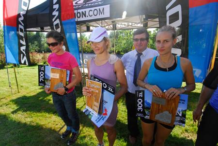 Maraton Gorce - zwyciężczynie (fot. Monika Strojny)