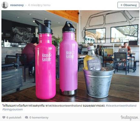 #BringYourOwn – Klean Kanteen promuje proekologiczną kampanię