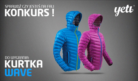 Konkurs marki Yeti – do wygrania kurtka Wave