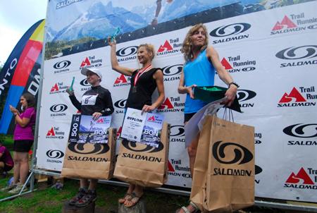 Maraton Gór Stołowych 2012 - najlepsze spośród kobiet (fot. Monika Strojny)