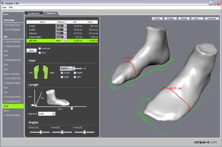 ERTL/RENZ, skan stopy 3D