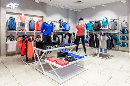 Pierwsze sklepy 4F w Rumunii