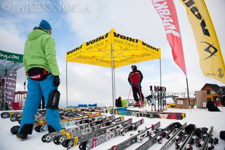 VIII Polar Sport Skitour im. Basi German - testy sprzętu (fot. Jarek Noga)