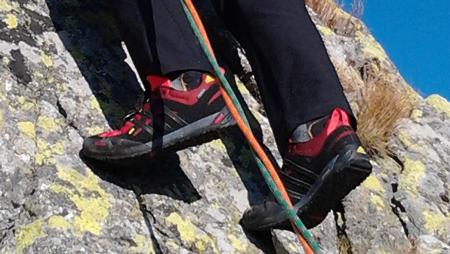 Łatwa wspinaczka w butach adidas Terrex Solo