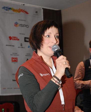 Joanna Biernacka-Goworek otwiera ISPO Academy 2014 (fot. 4outdoor)