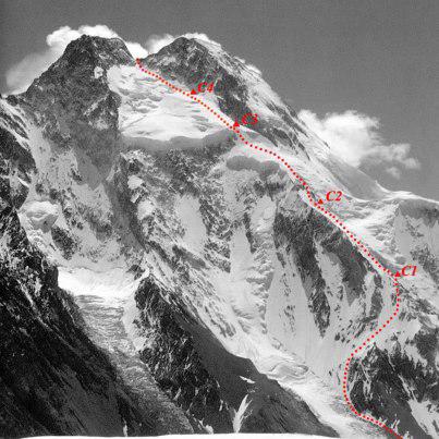 Wyprawa na Broad Peak – szczegóły ataku