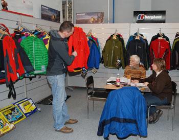 Targi Kielce Sport-Zima 2011, stoisko marki Berghaus (fot. 4outdoor.pl)