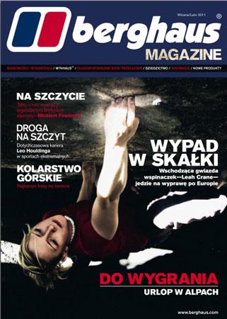Najnowszy numer Berghaus Magazine