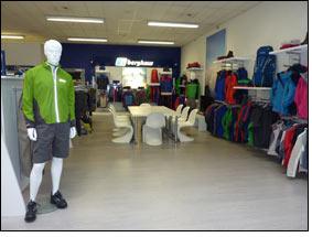 Showroom marki Berghaus w Monachium (fot. fibre2fashion.com)