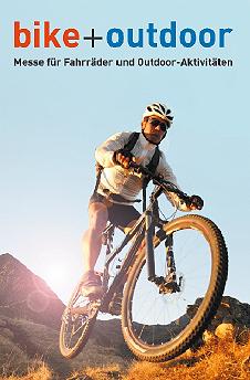Targi bike+outdoor, plakat
