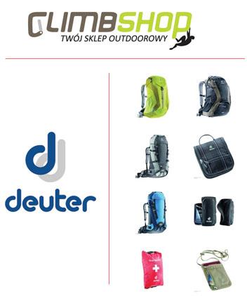 Marka Deuter dostępna w Climbshop.pl