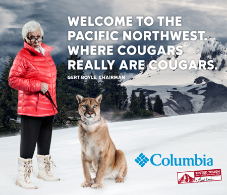 Kampania marki Columbia – Tested Tough