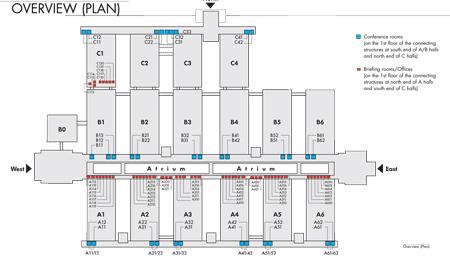 ISPO Munich, plan pomieszczeń konferencyjnych