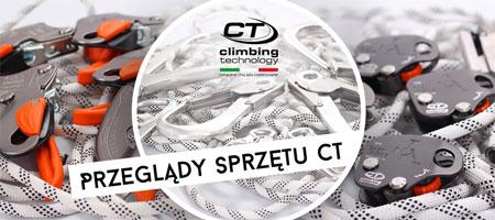 Przeglądy Środków Ochrony Indywidualnej marki Climbing Technology