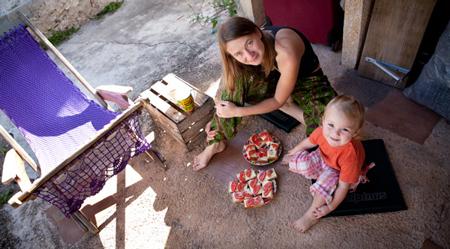 Anna Alboth z córką (fot. Thomas Alboth)