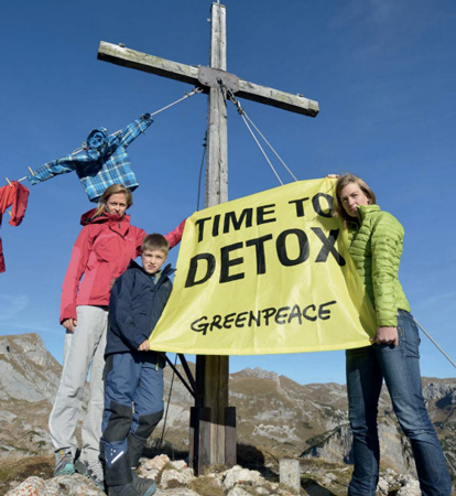 Time to detox (fot. Greenpeace)