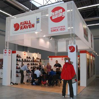 Targi Kielce Sport-Zima 2011, wyróżnione stoisko firmy HBMM (fot. 4outdoor.pl)