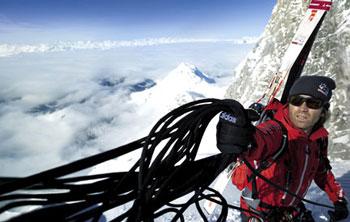 Do adidas Climbing Team należy m.in. Thomas Huber (fot. adidas)