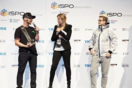 Wręczenie nagród ISPO BrandNew  (fot. ISPO Munich)