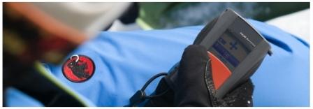 Trening online ratownictwa lawinowego z wykorzystaniem detektora PulseBarryvox firmy Mammut