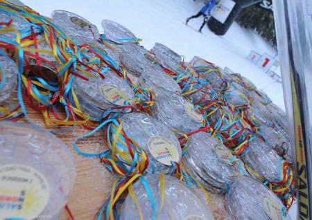 Salomon Nordic Sunday, pierwszy bieg z cyklu w sezonie 2011/12 - medale (fot. Stacja Jakuszyce)
