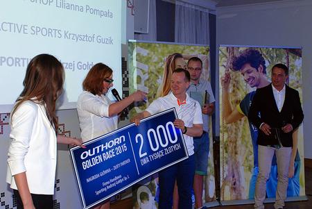 Zwycięzca konkursu Golden Race marki Outhorn (fot. 4outdoor)