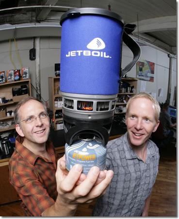 Perry Dowst i Dwight Aspinwall - założyciele firmy Jetboil (fot. Jetboil)