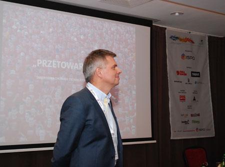 Witold Kowalski z firmy WK Profit (fot. 4outdoor)
