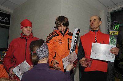 Puchar Czantorii 2011, pierwsza trójka zawodników