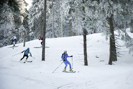 VII zawody Polar Sport Skitour im. Basi German (fot. Jarek Noga)