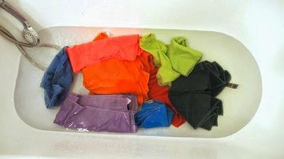 Namaczanie ręczników