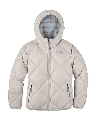 The North Face, kurtka Girls Reversible Down Moondoggy