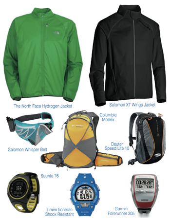 Trail running - przykładowa odzież i sprzęt dla biegacza