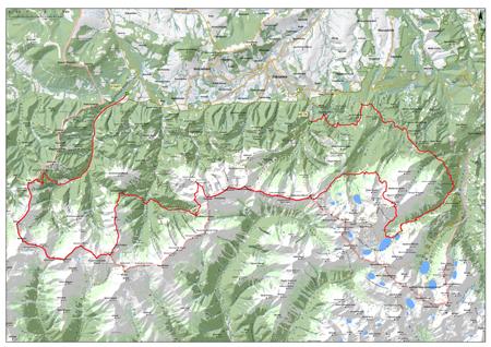 Bieg Granią Tatr 2013 - trasa