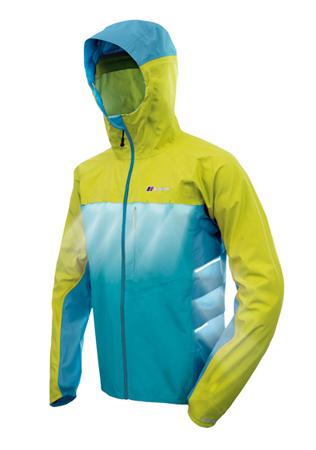 Berghaus, wentylacja w kurtce Vapour Storm Jacket