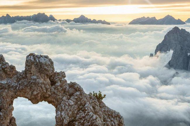 """""""Ponad chmurami"""" (fot. Der Atem der Berge)"""
