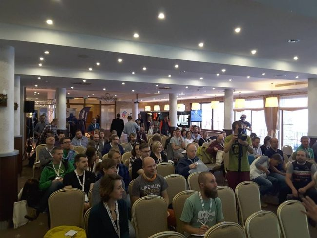 ISPO ACADEMY 2016 - podczas dyskusji (fot. 4outdoor)