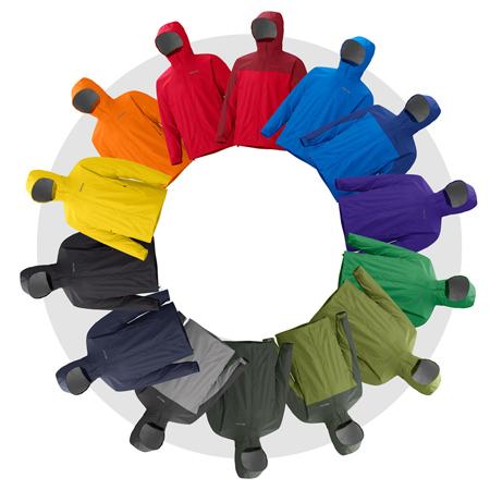 Marmot, 16 kolorów męskiego modelu kurtki PreCip