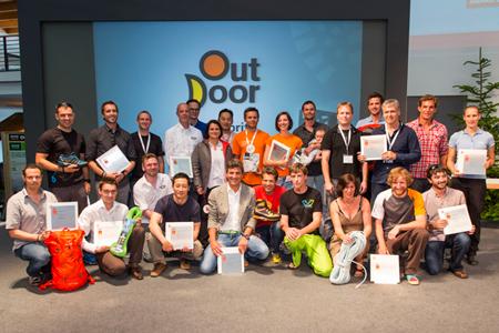 Zwycięzcy Gold Award w konkursie OutDoor Industry Award 2013