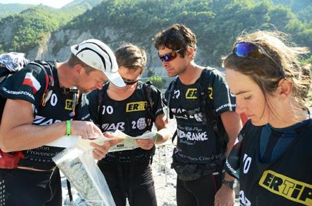 Polski zespół SALEWA TRAILteam na trasie Mistrzostw Świata w Adventure Racing (fot. Piotr Kosmala)