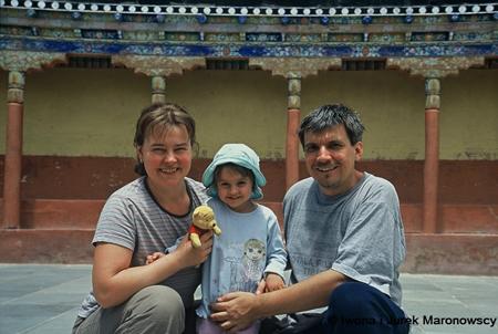 Mały Tybet z małym dzieckiem (fot. arch. Iwona i Jurek Maronowscy)