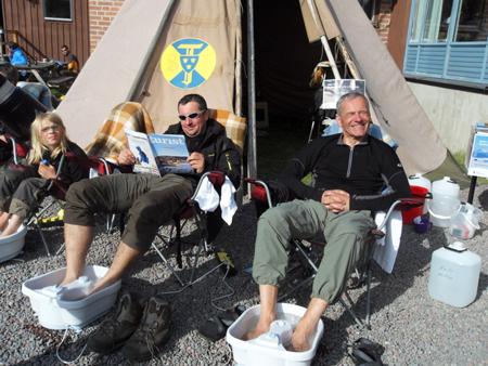 Fjallraven Classic 2011 - Relaks dla stóp (fot. Jakub Rymowicz)